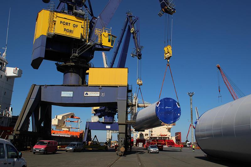 Porin satamaratojen peruskorjaukseen 20 miljoonaa euroa